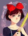 Kiki - hayao-miyazaki fan art
