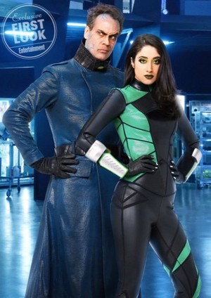 Kim Possible Live Action: Shego and Dr. Drakken