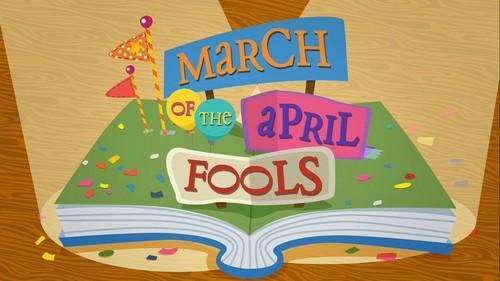 Lalaloopsy karatasi la kupamba ukuta called Lalaloopsy- March Of The April Fools