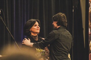 Lana with Jared