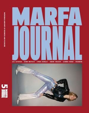 Lea Seydoux - Marfa Journal Cover - 2016
