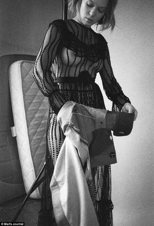 Lea Seydoux - Marfa Journal Photoshoot - 2016