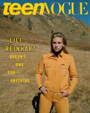 Lili Reinhart ~ Teen Vogue ~ October 2018