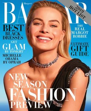 Margot Robbie - Harper's Bazaar Cover - 2018