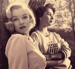 Marilyn and Elizabeth