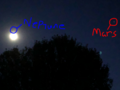 Mars & Neptune (sort of) - random photo