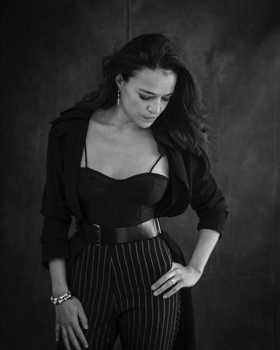 미셸 로드리게즈 바탕화면 titled Michelle Rodriguez - New York Moves Photoshoot - 2018