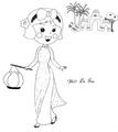 Miss La Sen in aodai 753378