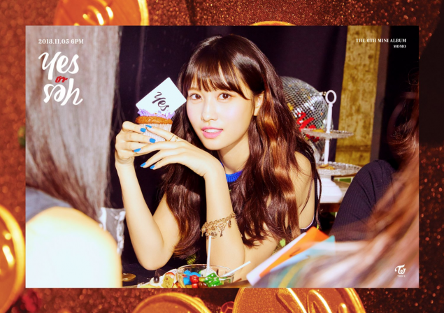 Twice Jyp Ent Images Momo Teaser Image For Yes Or Yes Wallpaper
