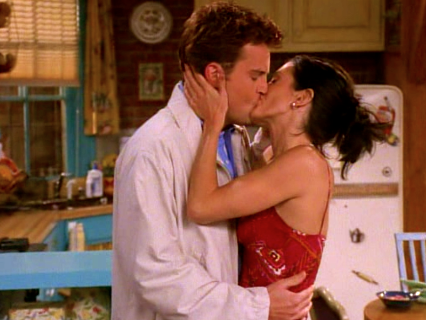 Monica and Chandler