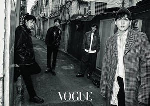 NU'EST W for 'Vogue'