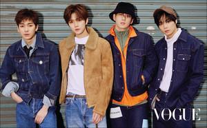 NU'EST W for 'Vogue'