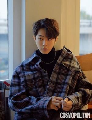 Nam Joo Hyuk for 'Cosmopolitan'