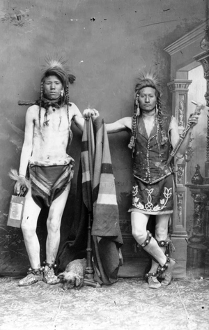 Nar-orse and Edge-yo-go (Shoshone) 1884