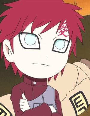 Naruto Chibi Gaara