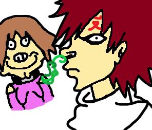 Naruto Matsuri and Gaara