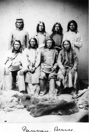 Native American (Sioux) men - 1870s