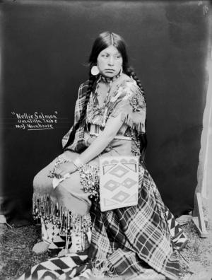 Nellie lachs (Umatilla) Moorhouse -1900