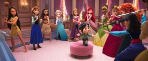 New Ralph Breaks th Internet Princesses image