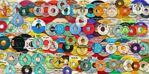 Northern Soul Labels wallpaper BIG Color