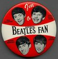 Official Beatles fan pin 😎
