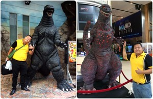 Oh ! my Godzilla !