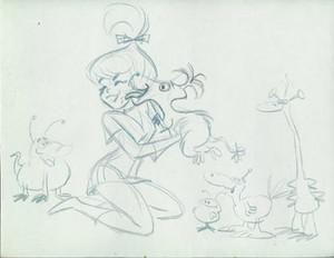 Older Judy With Alien Creatures