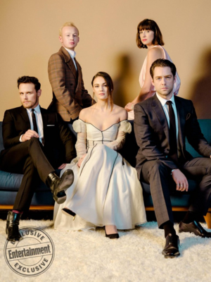 Outlander Cast at SCAD Savannah Film Festival - EW Portrait