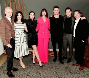 Outlander cast (October, 2018)