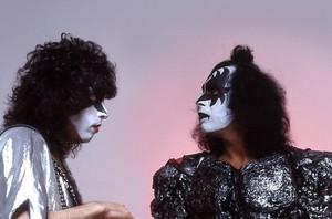 Paul and Gene ~KISS (NYC) May 22, 1980 ~Bravo Magazine