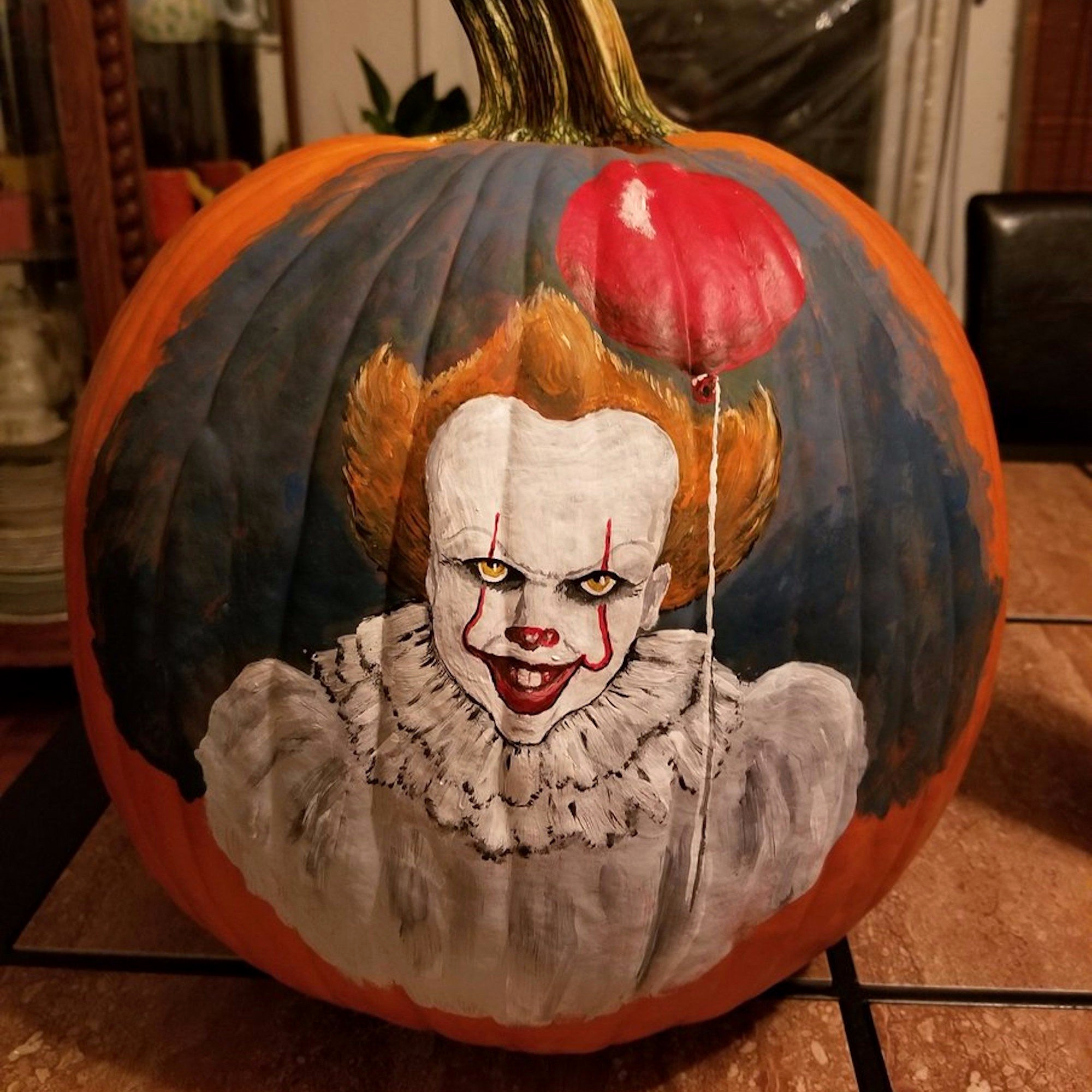 Pennywise calabaza 🎃👻🕷️