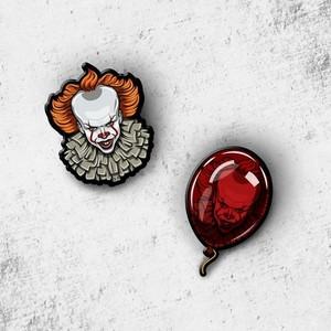 Pennywise pin set