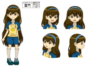 Perla  Sora  Hiragizawa   Inazuma eleven