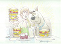 Pigging Out - scooby-doo photo