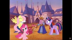Pinkie Pie Meets The Ponies.JPG