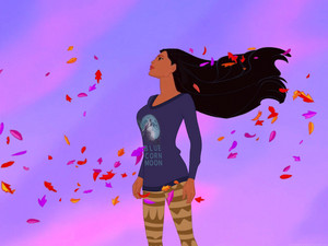 Pocahontas in her WiR2 casual attire