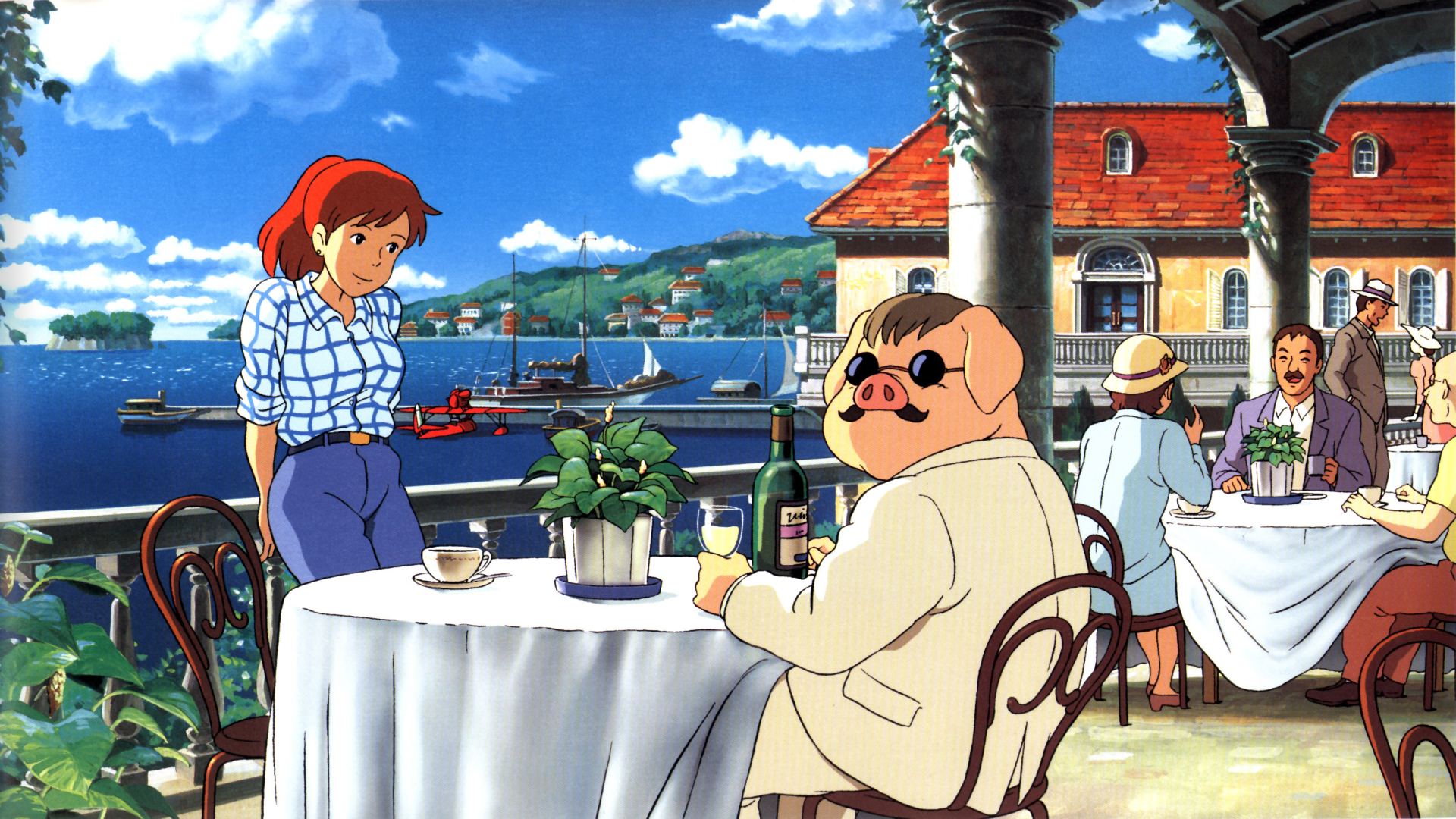 Porco Rosso Hayao Miyazaki Wallpaper 41633576 Fanpop