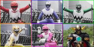 Power Rangers 로스트 Galaxy