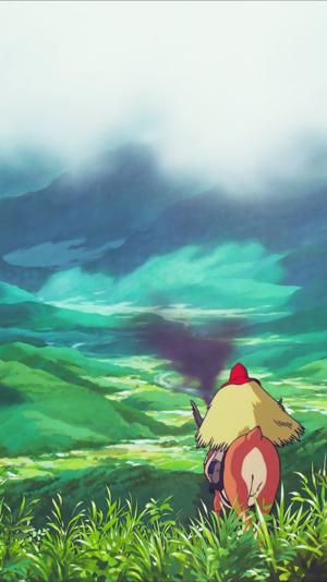 Princess Mononoke Phone Background