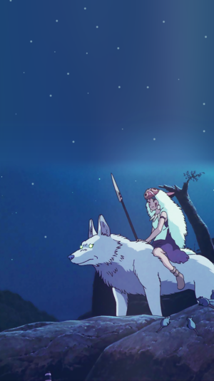 Princess Mononoke Phone Background