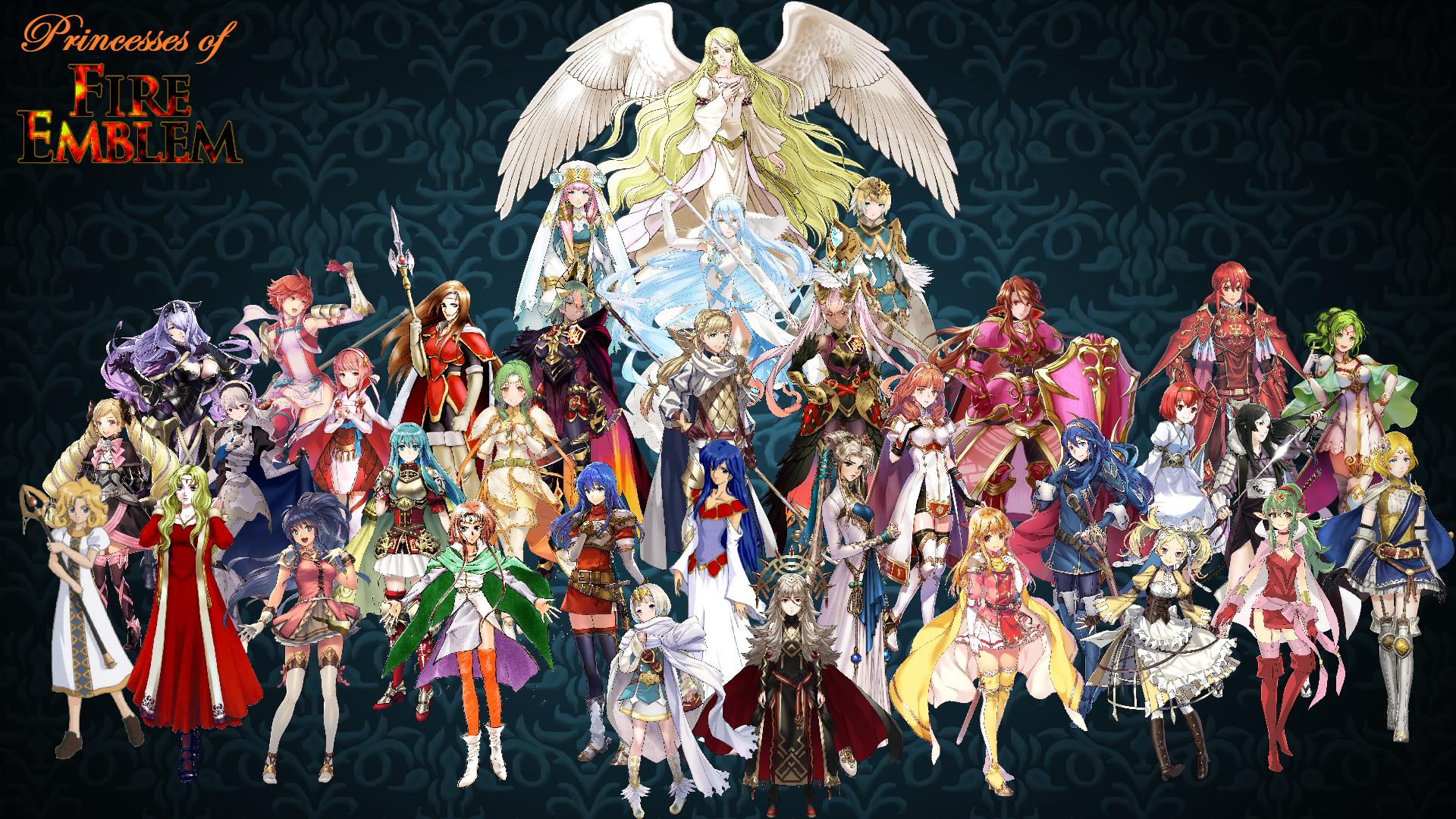 Princesses of fuego Emblem