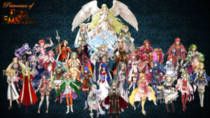 Princesses of fuego Emblem