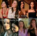 Prue and Piper 17 - charmed photo