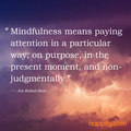 Quote Pertaining To Mindfulness