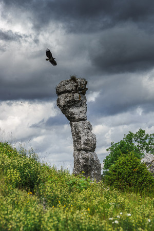 Raukar Jungfrun, Gotland, Sweden