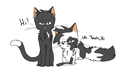Ravenpaw x Barley - make-your-own-warrior-cat photo