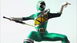 Riley Morphed As The Green Dino Charge Ranger