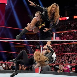 Ronda Dominating Mickie