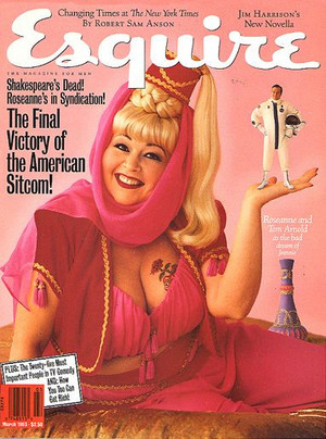 Roseanne Barr - Esquire Cover - 1993