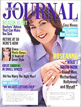 Roseanne Barr - Ladies ہوم Journal Cover - 1996